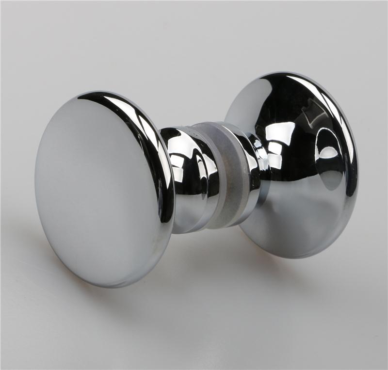 Double side door pull handle with bathroom shower handle D07
