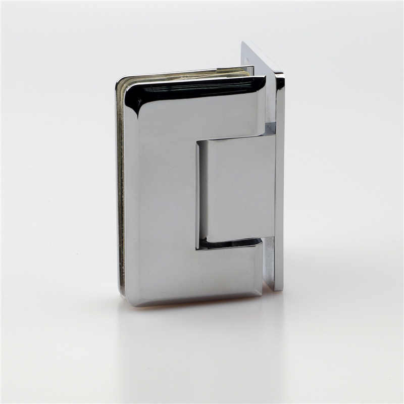90 degree wall mount glass door shower hinge H100L