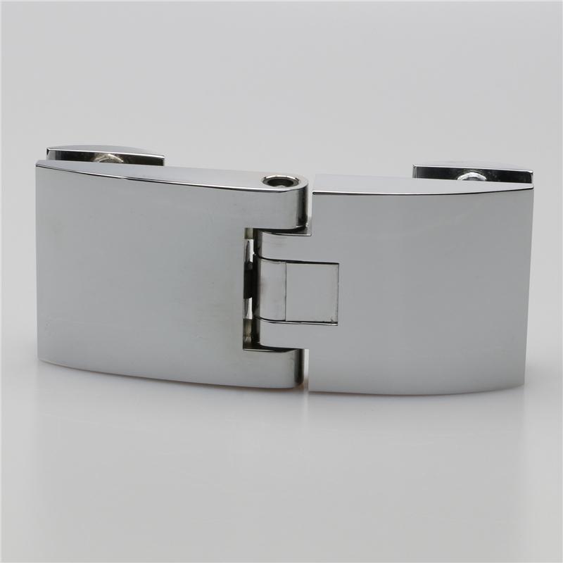 Glass to glass hingesshower door hinges mirror chrome glass door adjustable hinge hardware h1283 planetlyrics Images