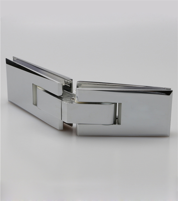 10mm to 12mm tempered glass bathroom door spring hinge H2012