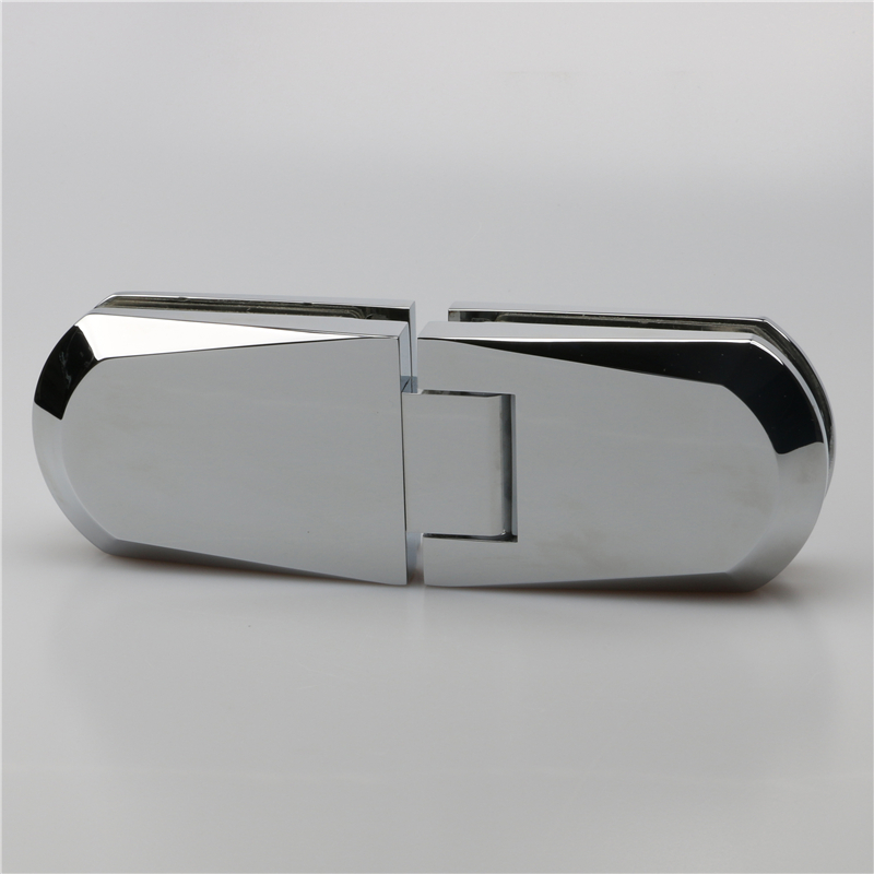 Customrized material bathroom glass door hinge H2043
