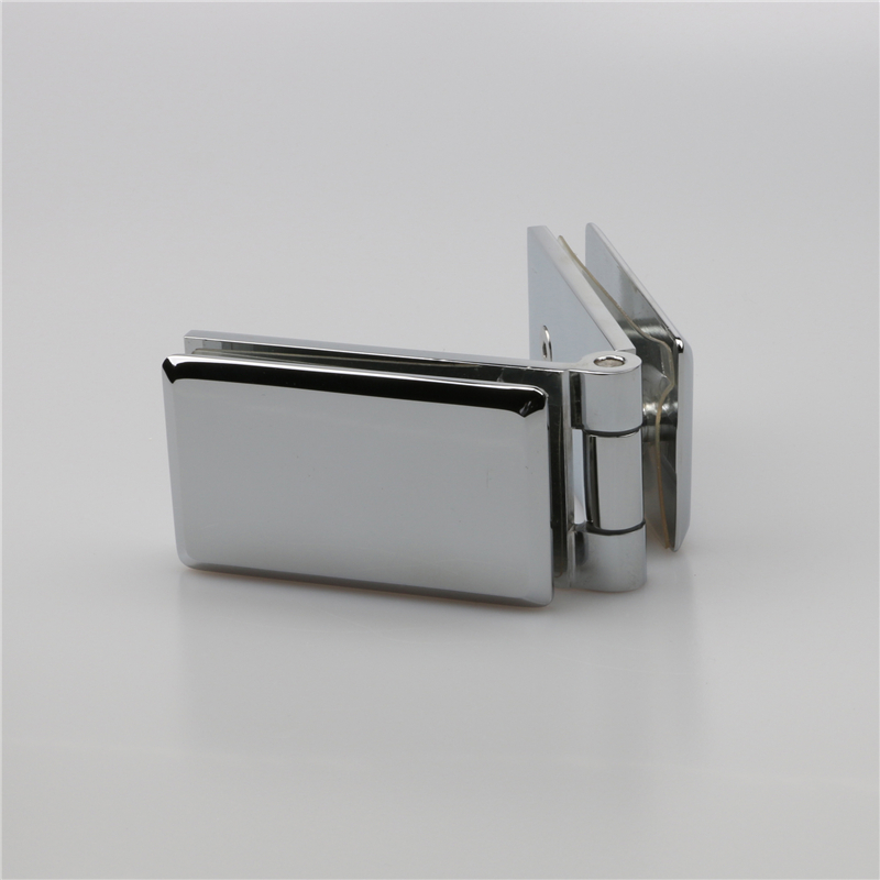 Wall mount Bathroom Glass Door Lock