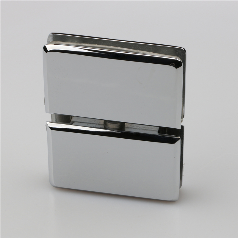 Glass to glass regular shape top hinge T1023