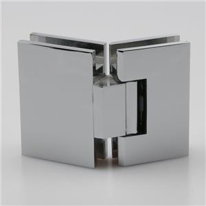 Shower glass door closer hinge H1162