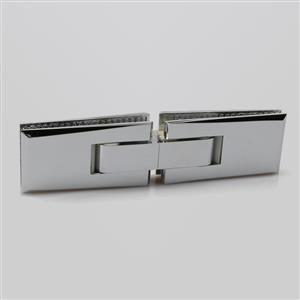 Glass to glass 180 degree long type shower glass door hinge H2013