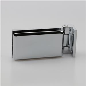 Decorated glass heavy duty pivot hinge H6220