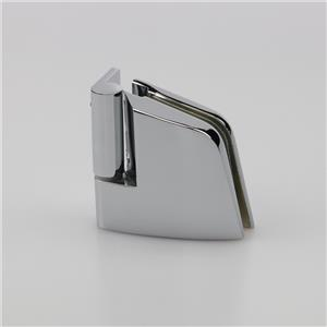 Decorative commercial glass hinge for shower door H6260