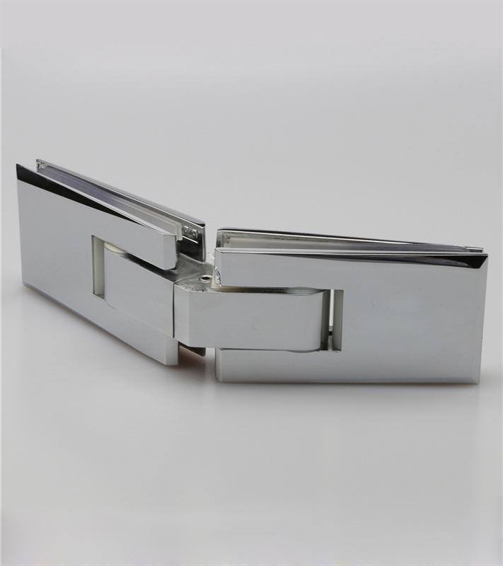 10mm To 12mm Tempered Glass Bathroom Door Spring Hinge