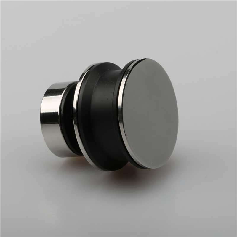 Stainless steel shower door pulley for square tube