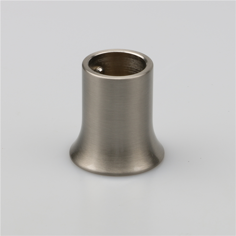 Round steel tube connector for shower room pipe