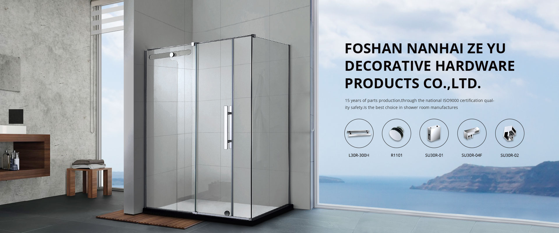 shower enclosure accessories supply